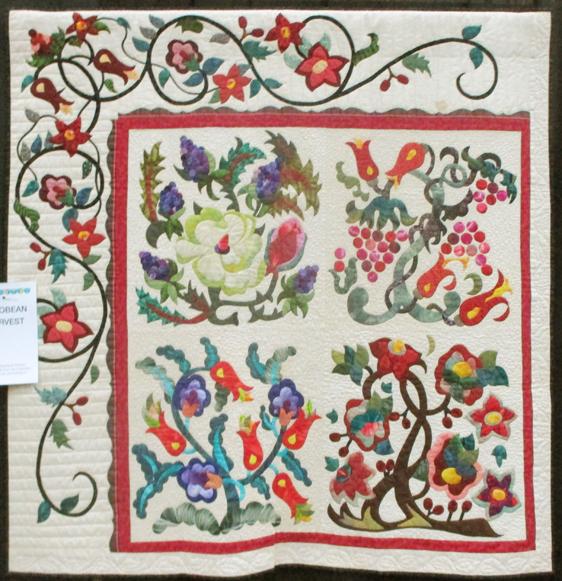 Barbara Brackman's MATERIAL CULTURE: Patricia Campbell's Quilts ... : jacobean quilt - Adamdwight.com