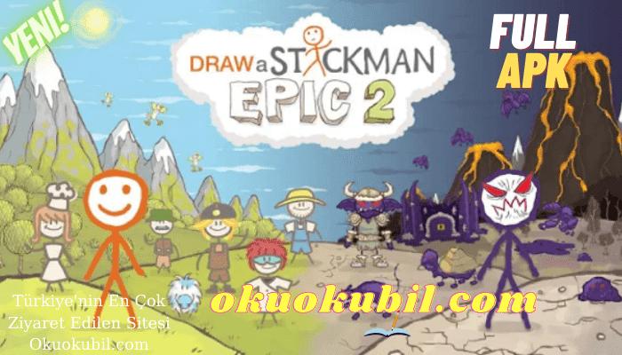 Draw a Stickman EPIC 2 Pro v1.1.5 Çöp Adam Çiz Full Mod Apk İndir