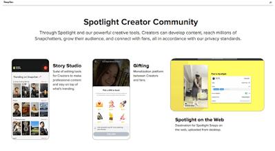 منصة الأضواء Spotlight
