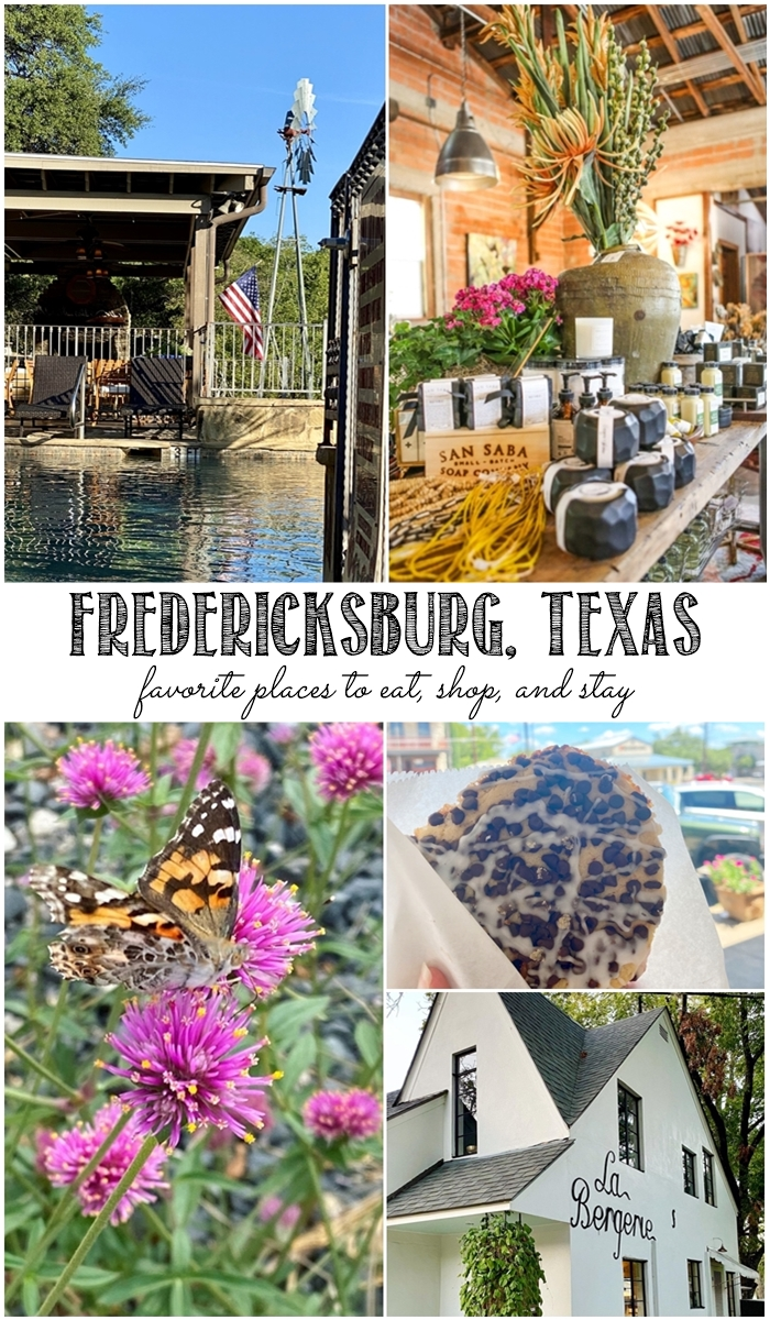 Fredericksburg, Texas ... where to eat, shop, and stay