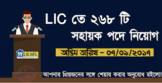 LIC Housing Finance Limited Recruitment 2017