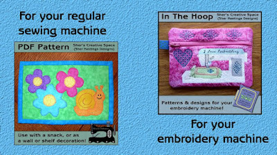 FREEBIE WEEKEND - Zipper Bag and Mug Rug Patterns
