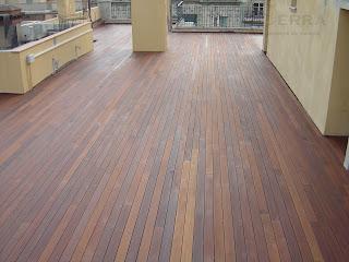 terraza tarima de ipe