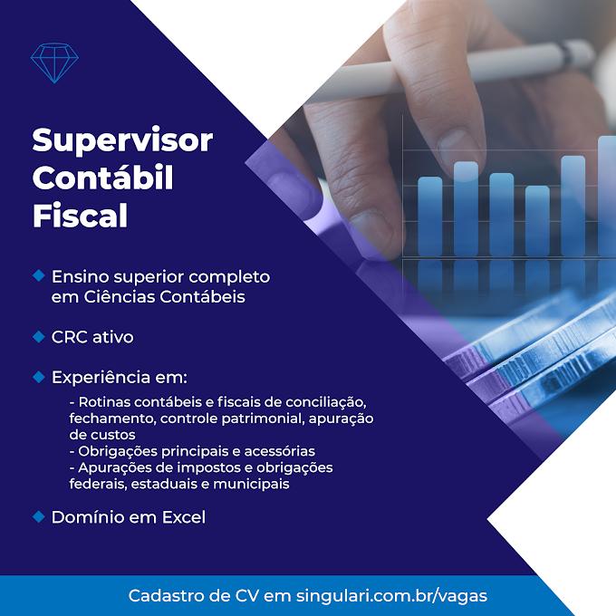 Supervisor Contábil Fiscal