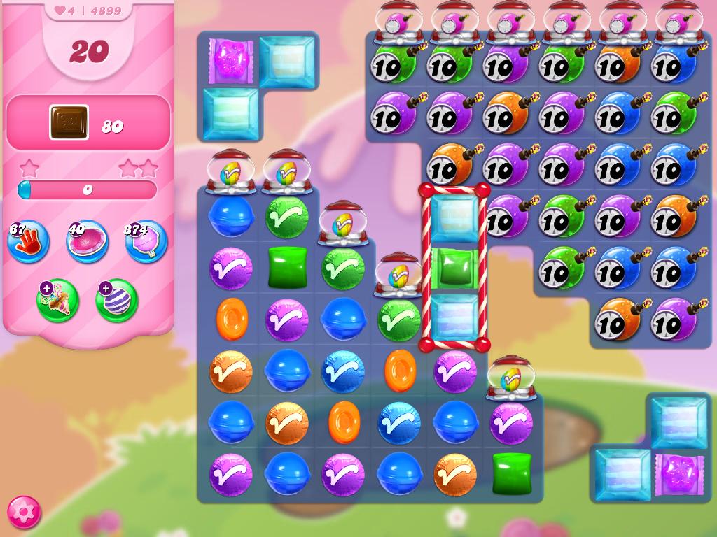 Candy Crush Saga level 4899