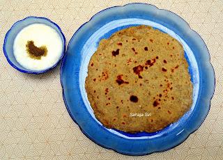 Moong Dal Roti