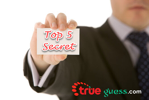 5 things always keep Secret