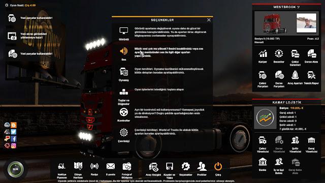ETS2 Sesli Navigasyon Açma