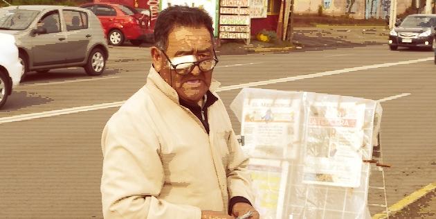Vendedor de diarios