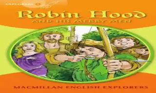 قصة روبين هود Robin Hood and his merry men مع اسئلة واجابات نموذجية عليها ملزمة وشيتات تدريبات على قصة Robin Hood and his merry men