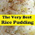 The Very Best Rice Pudding