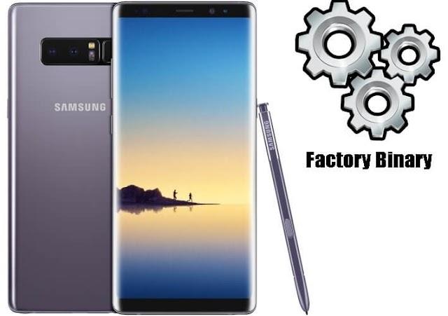 Samsung Galaxy NOTE 8 SM-N950F Combination Firmware