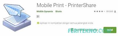 cara print menggunakan handphone