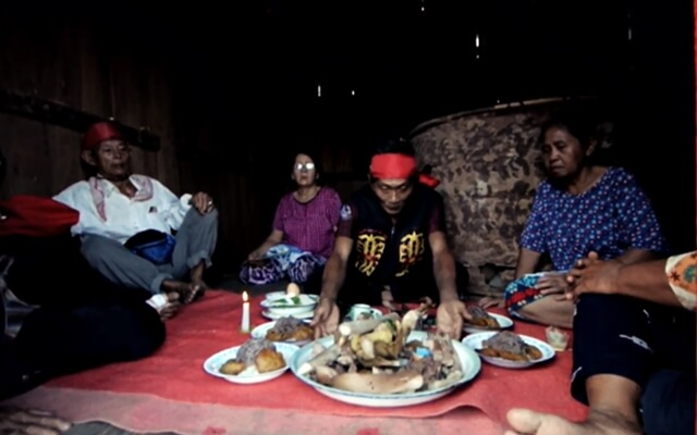 upacara ritual naik dango dayak kanayatn kalbar