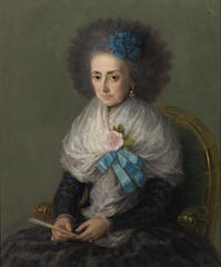 The Dowager Marchioness of Villafranca, by Goya