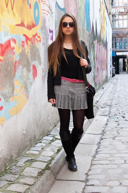 stylizacja-stylistka-tweedowa-spodniczka