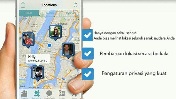 Aplikasi iSharing Untuk Lacak No Hp 4