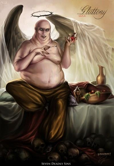 ตะกละ (Gluttony) @ บาป 7 ประการ (Seven Deadly Sins)