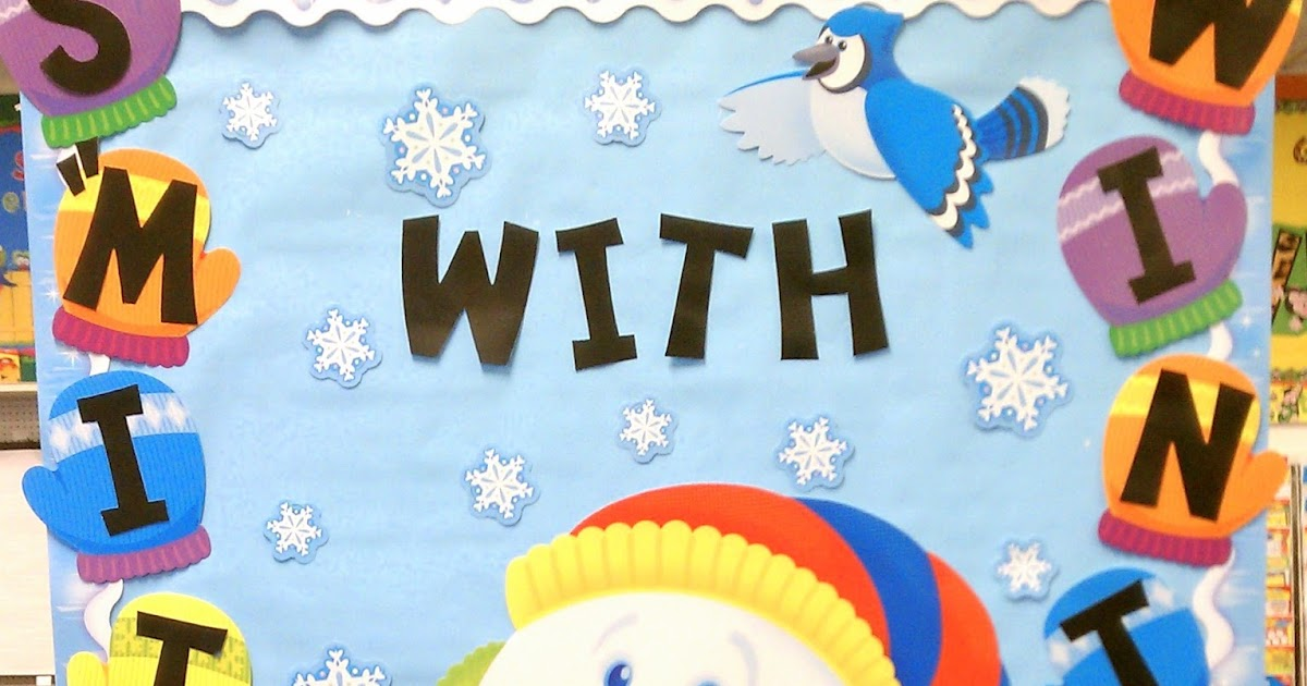 "Better Bulletin Boards: S""mitten"" with Winter"