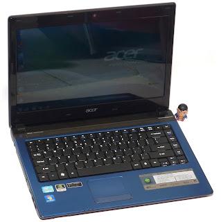Laptop Gaming Acer 4750G Core i5 Dual VGA