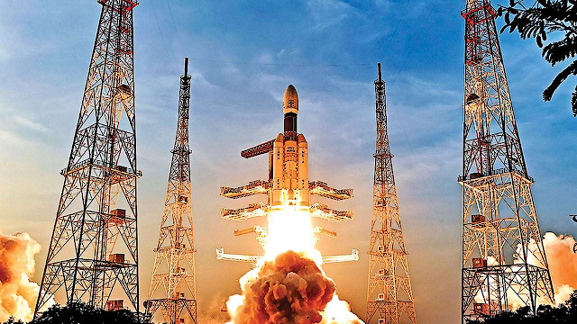 ISRO+launches+Samwad