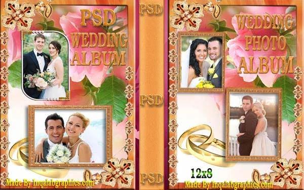 Wedding Album Design Templates free