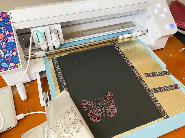 cameo 4, foil quill, foil quill magnetic mat, silhouette cameo 4, heat activated foil