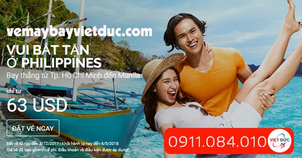 Vui bất tận ở Philippines giá 63 usd