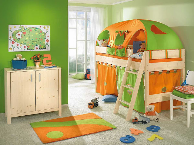 غرف نوم موديل وافكار غرف نوم اطفال