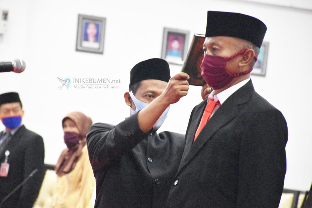 Gantikan Dalyono, Mantan Camat Bonorowo Resmi jadi Anggota DPRD Kebumen