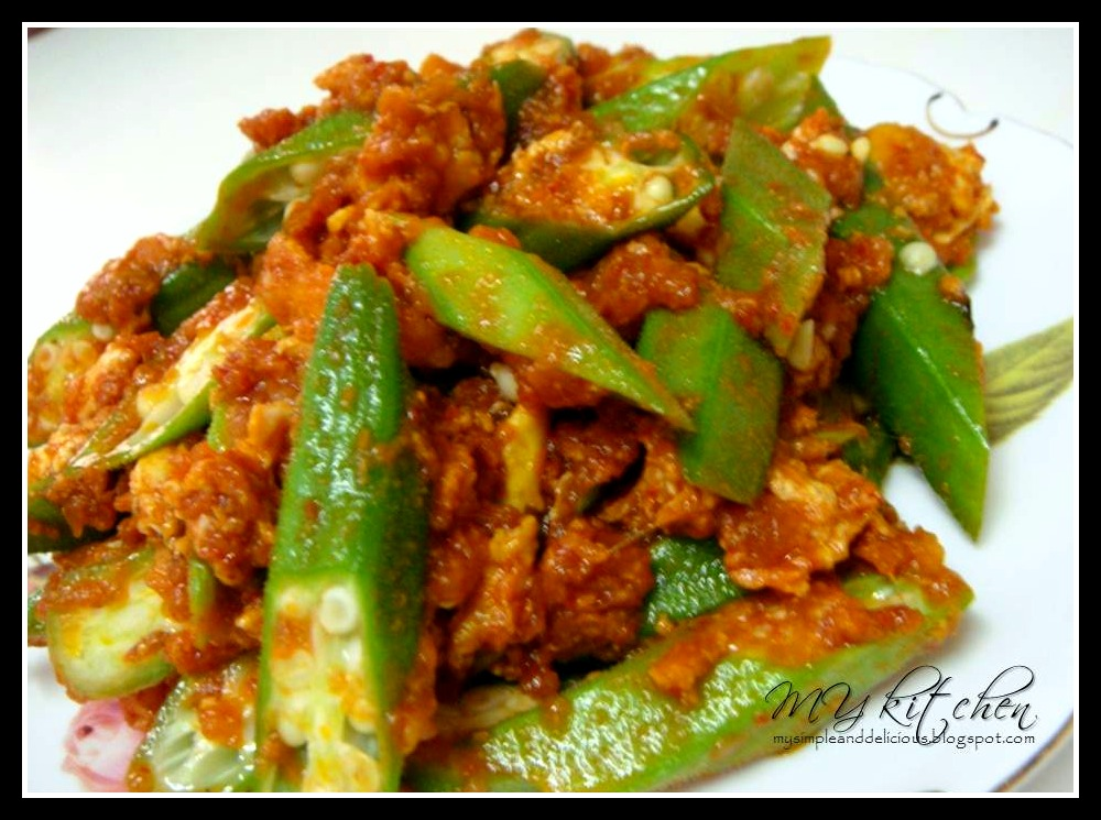 MY Kitchen MY Kitchen MY Kitchen: Bendi Goreng Sambal
