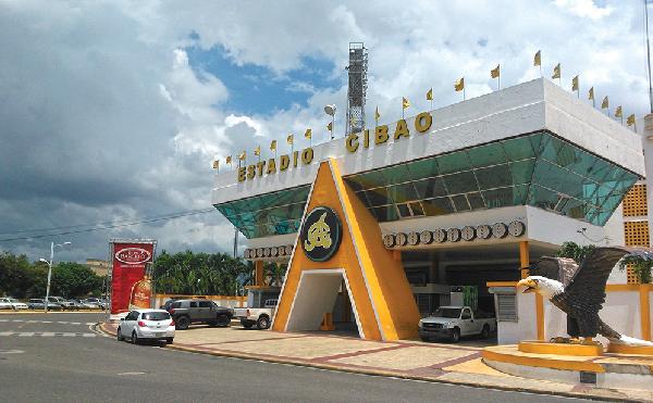 Desconocidos roban ventiladores del Estadio Cibao