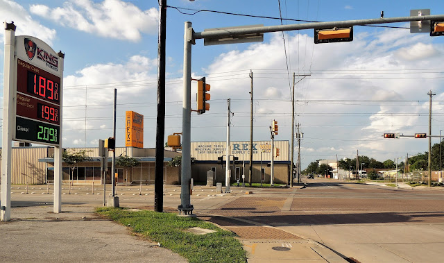 Milby Street intersection with Harrisburg - King Fuels (gas station) - Rex Supply Corp.