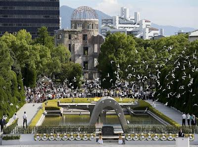 Japón recuerda como EEUU borró del mapa a Hiroshima y Nagasaki