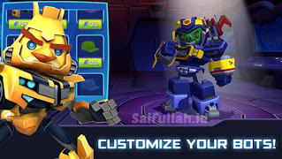 Angry Bird Transformers Mod Apk v2.6.0 (Pro, Unlimited Coins / Gems) Free For Android