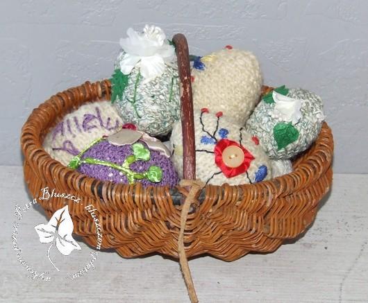 haftowane jajka i moc prezentów
