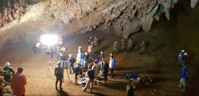กฟผ. เร่งระดมเครื่องมือและส่งทีมช่วยค้นหา 13 ชีวิตที่ถ้ำหลวง – ขุนน้ำนางนอน จ.เชียงราย