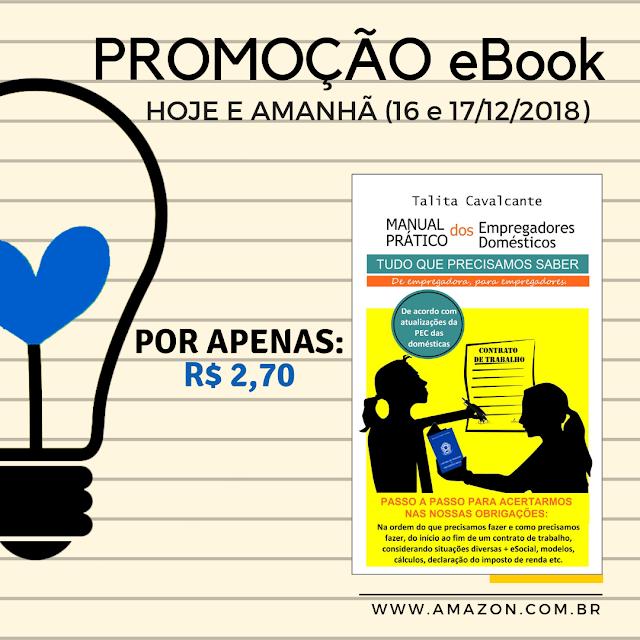 Livro que ajuda o empregador doméstico está em promoção em eBook