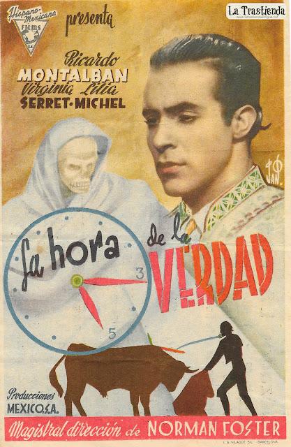 La Hora de la Verdad - Programa de Cine - Ricardo Montalbán - Virginia Serret