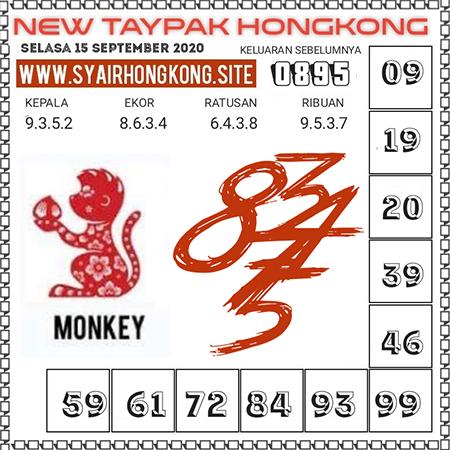New Taypak Hongkong Selasa 15 September 2020