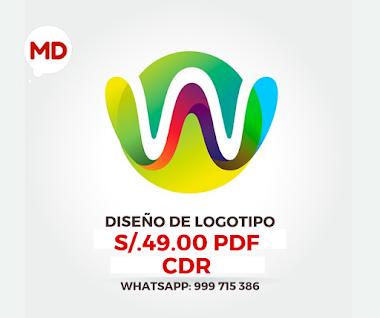 🥇 DISEÑO DE LOGOTIPO S/.49.00