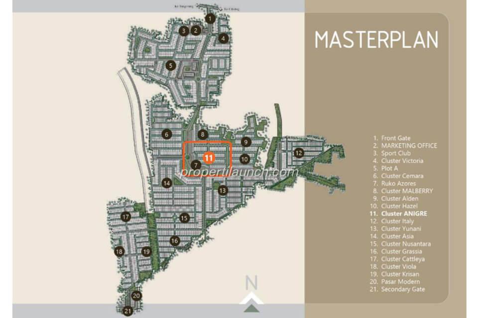 Master plan Banjar Wijaya