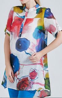 Model baju tunik modern terbaru