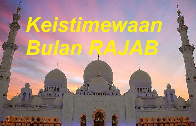 Keistimewaan Rajab