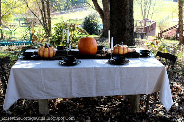 Cozy Thanksgiving Table