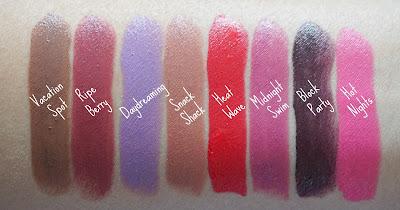 NYX Cosmetics Butter Lipsticks