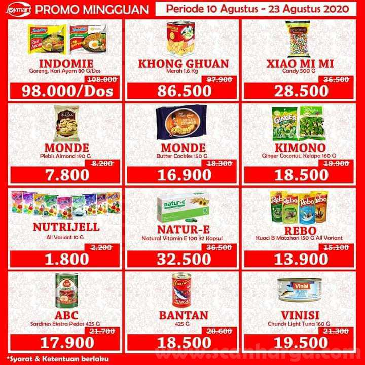 Katalog Joymart Swalayan Promo Mingguan 10 - 23 Agustus 2020 2