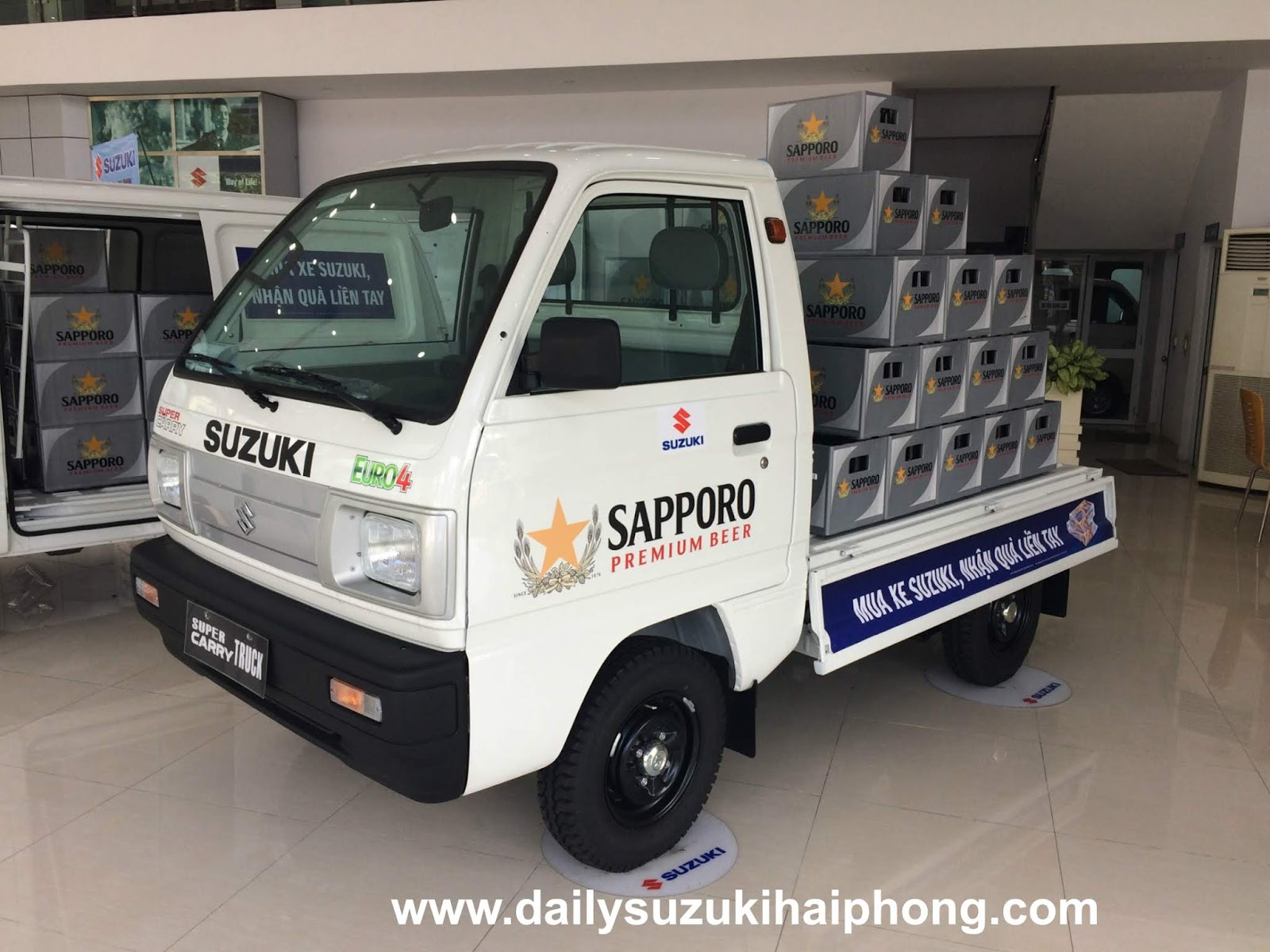 Xe tai 5 ta Suzuki Hai Phong