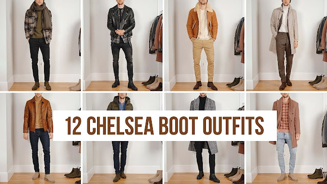 12 ý tưởng phối đồ chelsea boots thu đông