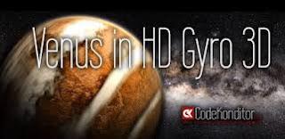 ဖုန္းမွာ ၿဂိလ္ေတြ လည္ပတ္ ေနတဲ့ 3D ဒီဇိုင္းေလးနဲ႔လန္းႏိုင္မယ့္ - Venus in HD Gyro 3D XL v1.2 Apk  (No Ads)